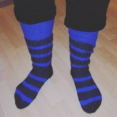 ..when it drops below -20°C it's time to put on those new socks you got for Christmas!🧦 .. nice design and they go so well with my blue longjohns! 👖 😀 Thank you @tanja_eriksson1 . . #blackandblue #socks #stripes #feet #winterwoolies #warmclothes #handmade #keepingwarm #longjohns #staywarm #itscoldoutside #highfashion #fashiontrends #wheninfinland #design #weareinfinland #finland #raseborg #knitwear #madeinbromarf #woolies