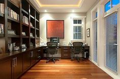 Small home office designs are great for creating more energy-efficient and eco friendly homes