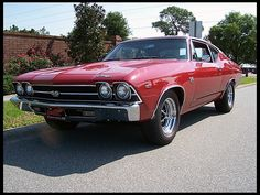 1969 Chevrolet Chevelle SS 396/350 HP, 4-Speed presented as lot L69 at Kissimmee, FL 2013 - image1