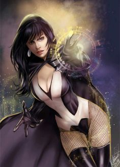 I really like Zatanna. Especially after watching Justice League Dark, which was great by the way. Although I may be a little biased. But seriously, DC can do no wrong when it comes to animation films.