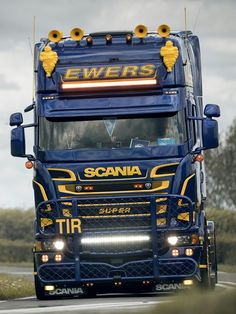 Ewers Transporte Hamburg Scania R500