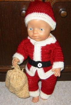 Baby Born als Weihnachtsmann - creadoo.com