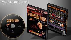 O Mestre Ninja - DVD - ➨ Vitrine - Galeria De Capas - MundoNet | Capas & Labels Customizados
