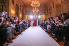 Fashion Show bei der Eröffnung der French Fashion Week (Foto Moni Fellner)