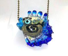 Fantasy fish lampwork bead by Beadsagogo on Etsy, $22.00