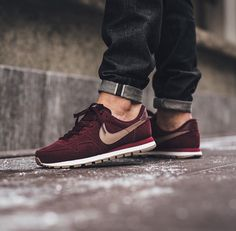 Nike Air Pegasus '83 Leather - Night Maroon/Malt