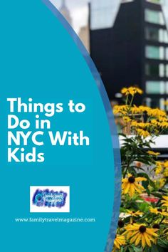 New York City is a fantastic destination for a family vacation. Here is a list of things to do in NYC with kids, including the High Line, the Empire State Building, and so much more. Travel Couple, Family Travel, Nyc With Kids, Travel Magazines, Find Hotels, Best Places To Travel, Amazing Adventures, Us Travel, Empire State