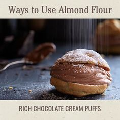For a subtle nutty flavor, try using White Lily® Premium Wheat and Almond Flour Blend in your Rich Chocolate Cream Puffs.