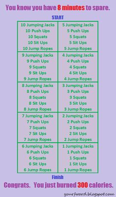 Burn 300 Calories in