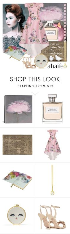 """""""Sometimes life is so busy, we forget the world around us"""" by linda-caricofe ❤ liked on Polyvore featuring iCanvas, Ralph Lauren, Oriental Weavers, Chi Chi, Ted Baker, Prism Design and Sophia Webster"""