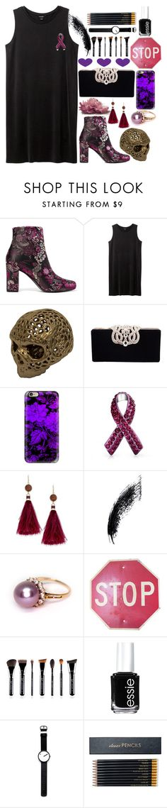 """Stop & Think! ♥"" by shyanimallover5 ❤ liked on Polyvore featuring Yves Saint Laurent, Monki, Casetify, Bling Jewelry, Kate Spade, Essie, Rosendahl and Sloane Stationery"