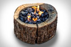 Forget finding the perfect spot for your campfire - bring it with you with the Burnie Portable Campfire. Made from 100% alderwood, the Burnie combines a wood body with a circle of charcoal, making it a chemical-free, self-contained fire. It...