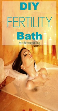 DIY Fertility Bath - use safe effective therapeutic oils to enhance your fertility and enjoy this relaxing treat! Natural Fertility, Fertility Diet, Fertility Massage Self, Fertility Boosters, Boost Fertility, Fertility Yoga, Bmi, Real Fit, Behind Blue Eyes