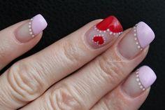 Valentines by tgrevenstein - Nail Art Gallery nailartgallery.nailsmag.com by Nails Magazine www.nailsmag.com #nailart