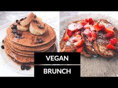 VEGAN BRUNCH RECIPES  // French toast, pancakes, waffles - YouTube