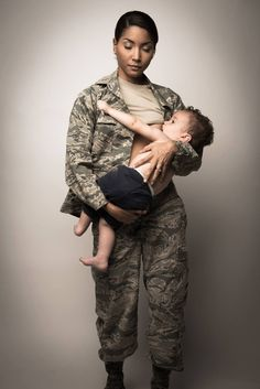Air Force Mom Breastfeeding in Uniform Is Stunning Look at Military Parenthood Breastfeeding Pictures, Breastfeeding Photography, Breastfeeding Photos, Extended Breastfeeding, Breastfeeding Support, Air Force Mom, Military Mom, Baby Kicking, Mother And Child
