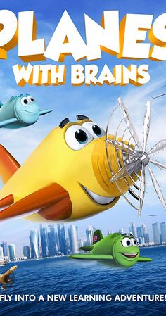 Shop Planes with Brains [Blu-ray] at Best Buy. Find low everyday prices and buy online for delivery or in-store pick-up. Best Buy Store, Cartoon Movies, Greatest Adventure, Cool Things To Buy, Brain, Shit Happens, Learning, Planes, Model