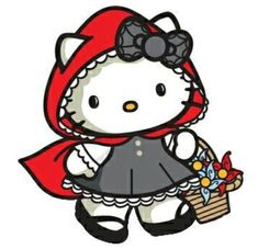 Little Red Riding Hood Kitty