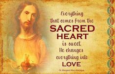 St. Margaret Mary Alacoque and The Sacred Heart of Jesus - Her feast day is today 10/16