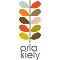orla kiely long colour logo - #orlakiely #logo #type
