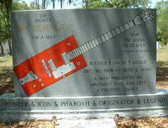 Bo Diddley, Rosemary Hill Cemetery, Florida