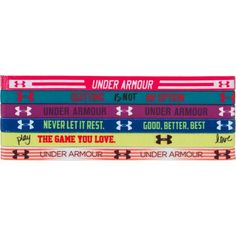 For Brooklynn. Under Armour® Girls' Mini Headbands 6-Pack