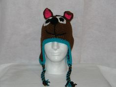 inspired by Scooby Doo, my doggy hat is an original design.