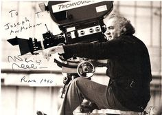 """Talking about dreams is like talking about movies, since the cinema uses the language of dreams; years can pass in a second and you can hop from one place to another. It's a language made of image. And in the real cinema, every object and every light means something, as in a dream.""    ~ Frederico Fellini, Filmmaker"