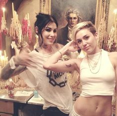 With Miley