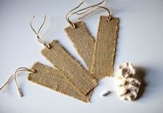 Handmade Reusable Burlap Chalkboard Gift by SimplyClassicGifts, $9.00