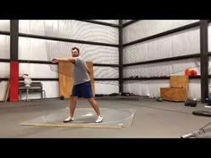 DISCUS TRAINING - Drilling Out the Full Throw - YouTube