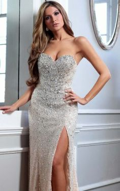 Strapless Dress by Terani Couture Evening GL1791