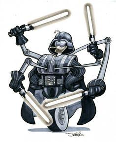 Roboduck/Darth Vader