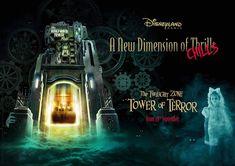 3 New Storylines and Drop Sequences Coming to Twilight Zone Tower of Terror at Walt Disney Studios Paris Disneyland Paris, Hello Disneyland, Menu Halloween, Disneyland Halloween, Disney Village, Universal Studios Singapore, Walt Disney Imagineering, Star Tours, Tower Of Terror