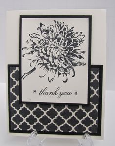 Personally Yours : Stampin' Up! Class Projects: Black & White June Class