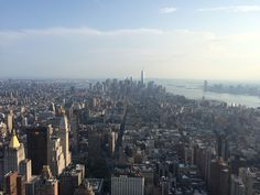 USA New York Empire State Building view