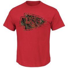 Mens Kansas City Chiefs Nike Red Faster T-Shirt