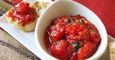 Receta de Meshwiya, salsa picante o condimento de tomate y pimiento asado…