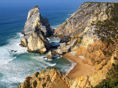 Praia da Ursa Cabo, Water, Outdoor, Gripe Water, Outdoors, Outdoor Living, Garden, Aqua
