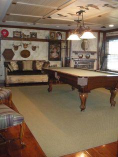 Billiards Room, Glenna Design