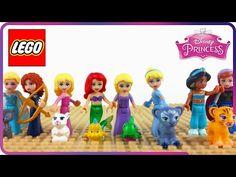 LEGO Disney Frozen Elsa's Sparkling Ice Castle 41062 ❤ Juego El Brillante Castillo de Hielo de Elsa - YouTube