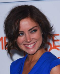Jessica Stroup's hairstyle for the fall