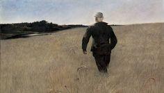 "Andrew Wyeth - ""Turkey Pond"""