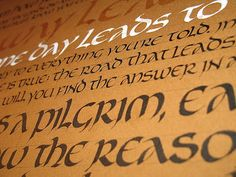 denis brown calligraphy - Google zoeken