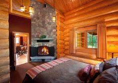 Jasper alpine villégiature cabine chambre