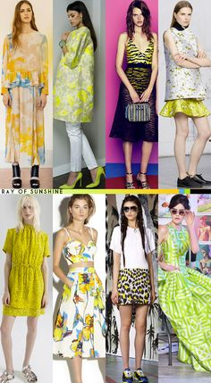 Resort 2015 Color Roundup - Ray Of Sunshine