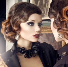 Die 8 Besten Bilder Von 30er Frisuren In 2017 Frisuren Frisur