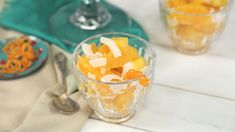 Ambrosia: We've got all the twists on Ambrosia – but we love the classic Southern recipe. If you use canned or jarred fruit instead of fresh, save the juices and add them to the ambrosia.