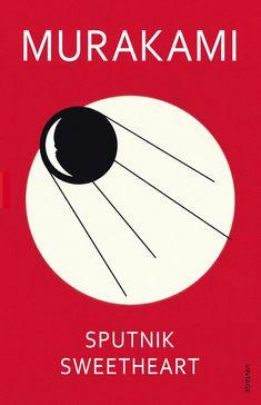 Sputnik Sweetheart, Murakami Book Covers Illustrated by Noma Bar ::: www.dutchuncle.co.uk/noma-bar-images