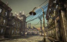 steampunk environment - Google Search